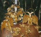 ЗОЛОЧЕНИЕ НА МОРДАН ,Таврический дворец, фрагменты люстры