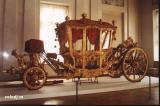 Гос. Эрмитаж. Коронационная карета Екатерины Второй.